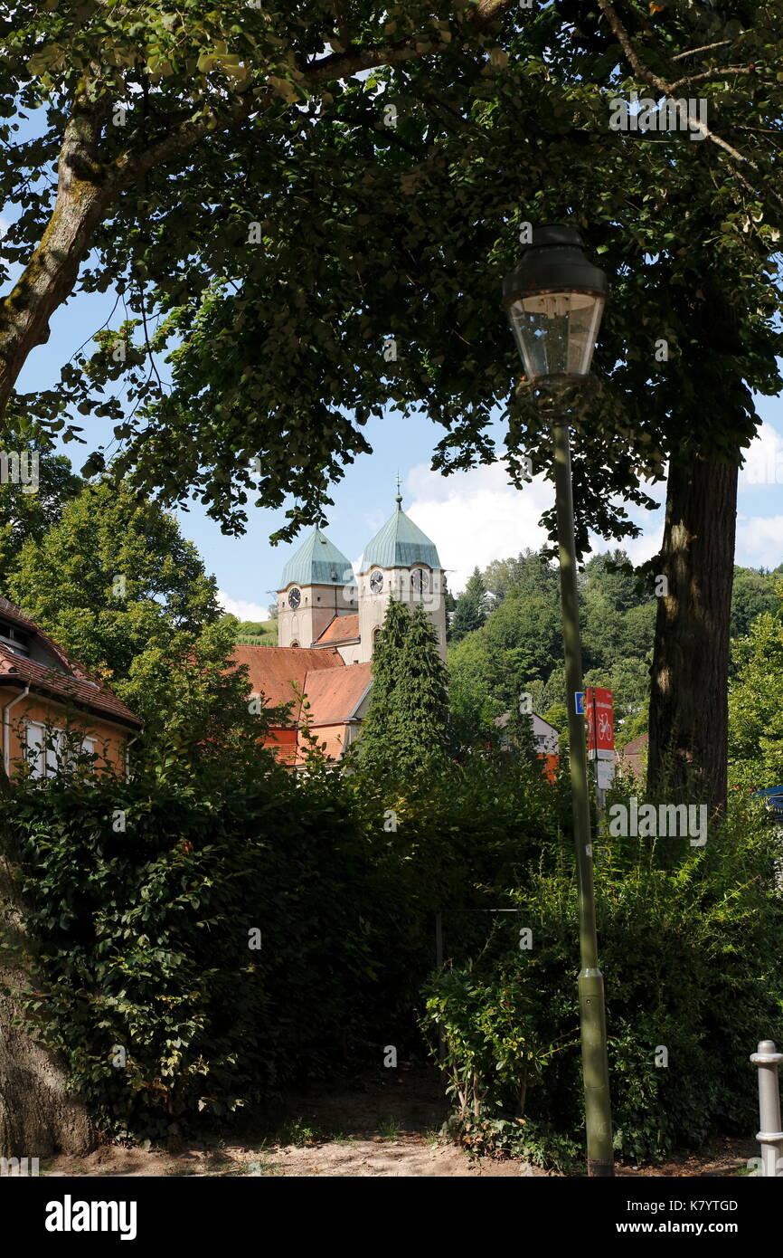 evangelische Lutherkirche Baden-Baden Lichtental - Stock Image