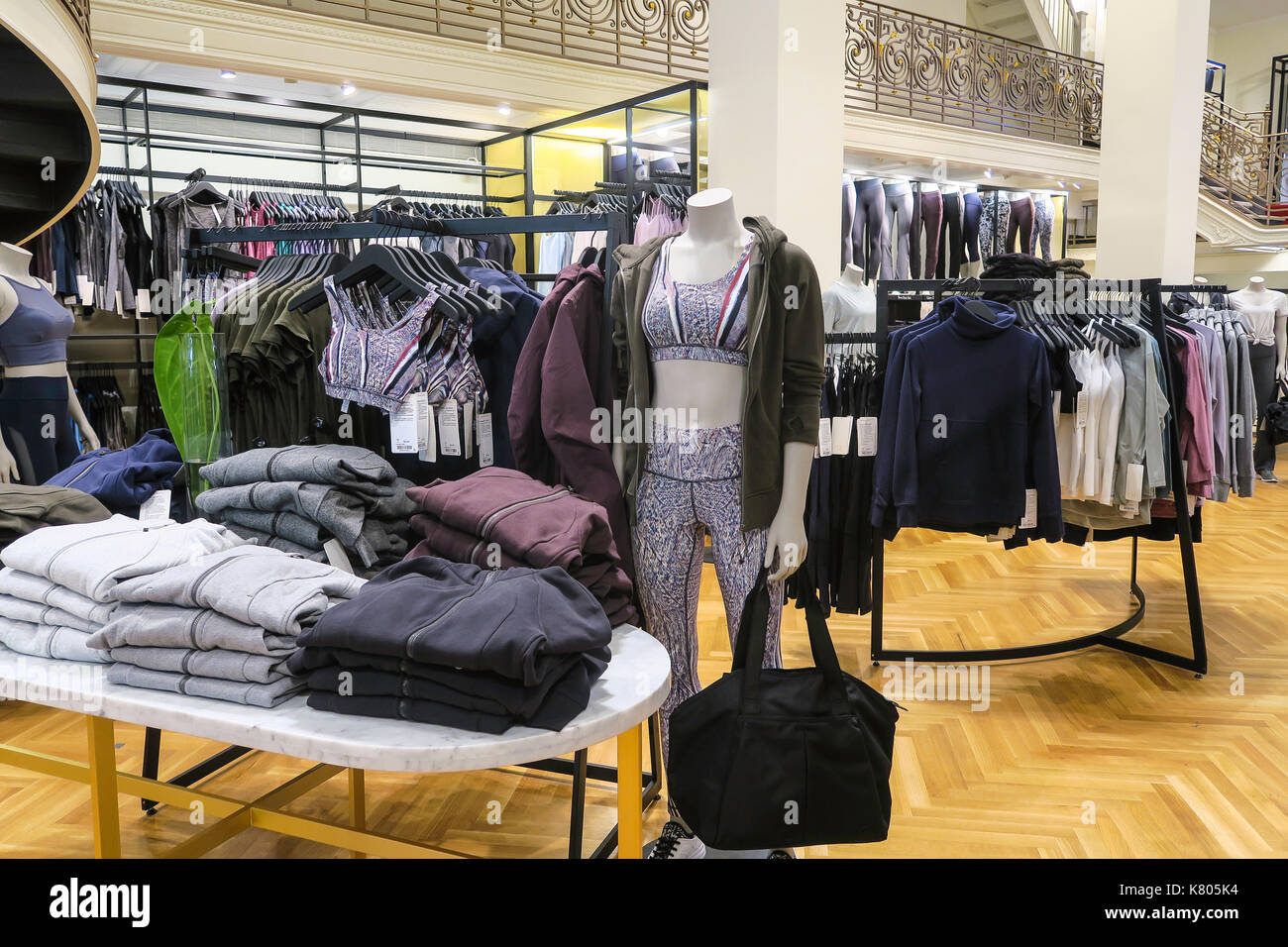 9d1ab8a7f0 Lululemon And Store Stock Photos & Lululemon And Store Stock Images ...