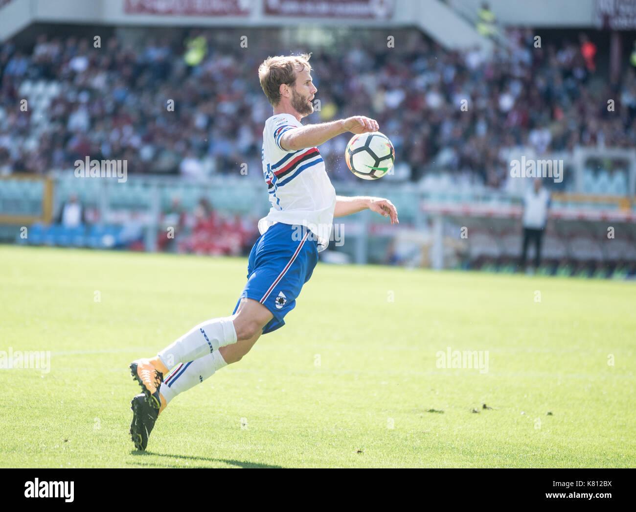 Serie A Tim: Torino fc Vs Sampdroia - Stock Image