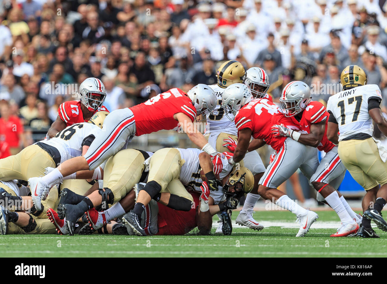 Image result for images of piling on in football