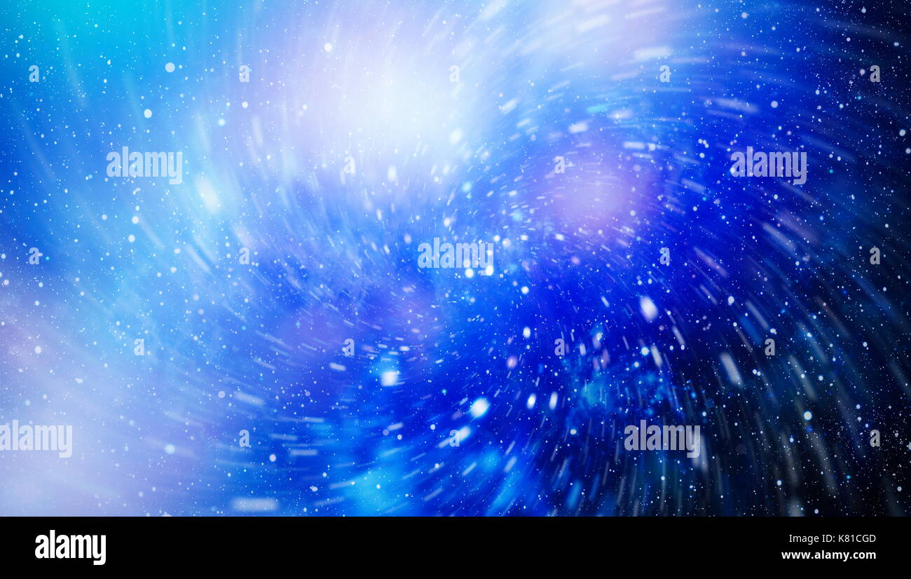 Abstraction space background for design. Mystical light - Stock Image