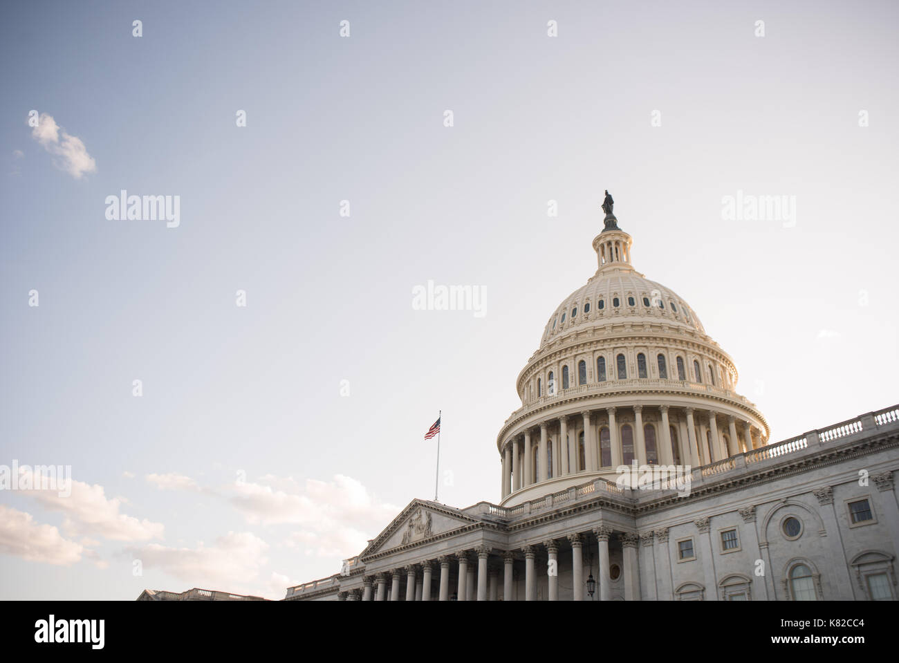 East side of the U.S. Capitol - Stock Image