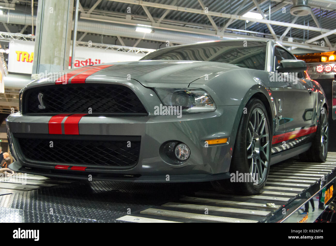 Shelby Gt500 2016 >> Ford Mustang Shelby Gt500 Oslo Motorshow 2016 Stock Photo