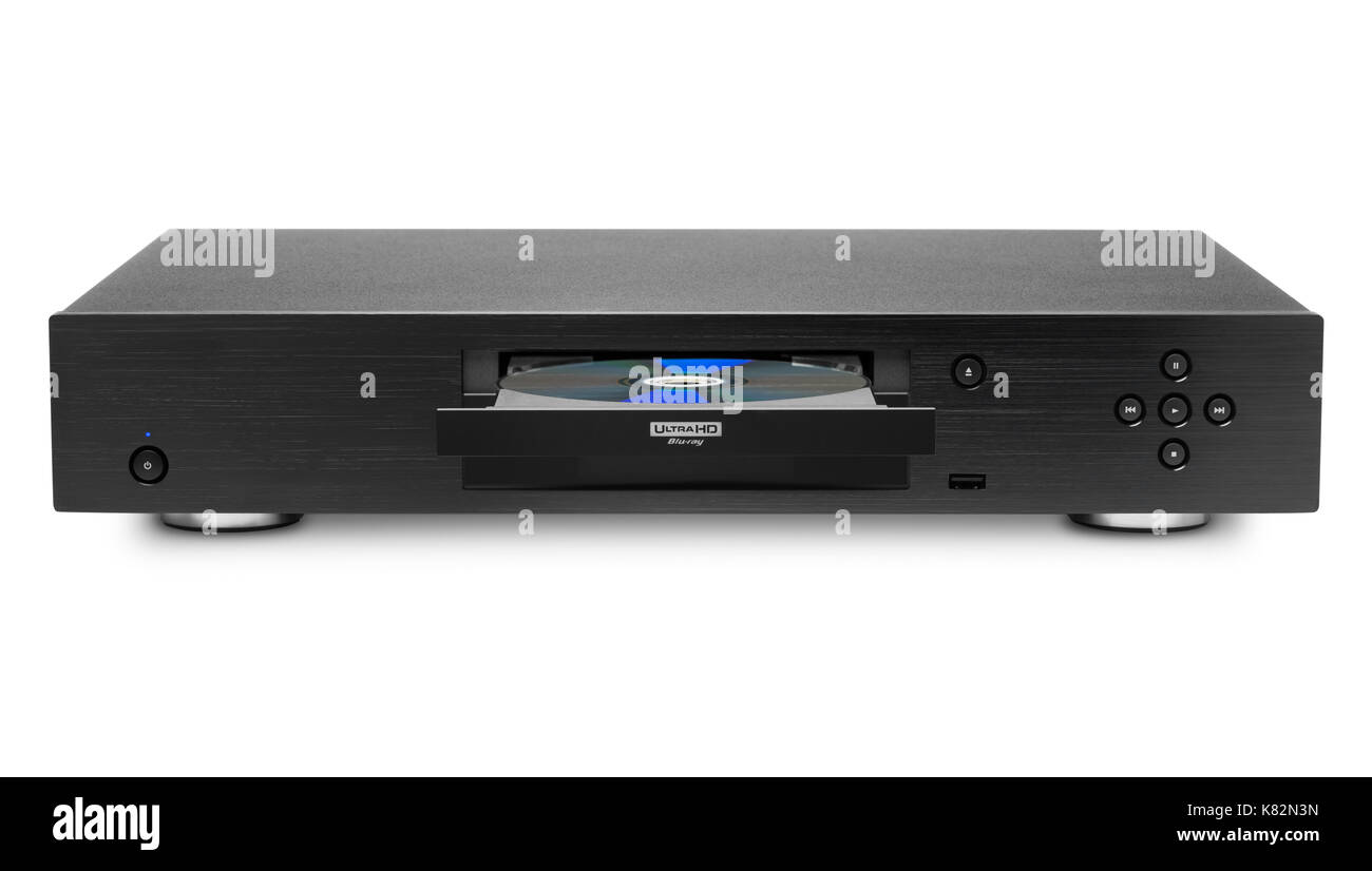 blu ray dvd player stock photos blu ray dvd player stock. Black Bedroom Furniture Sets. Home Design Ideas
