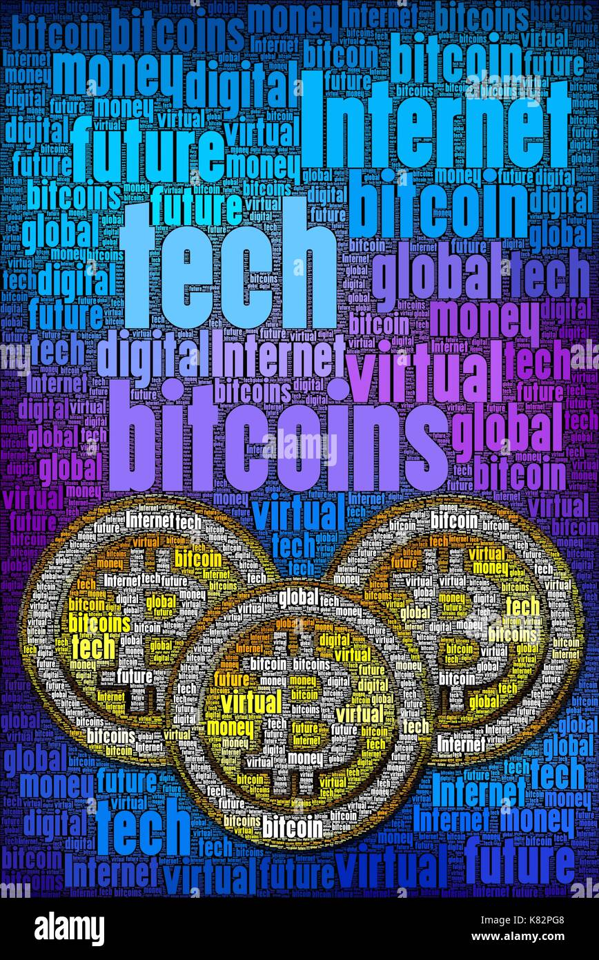 Bitcoin vertical concept mag cover I designed. You can add light if its too dark. That would brighten it up if required. - Stock Image