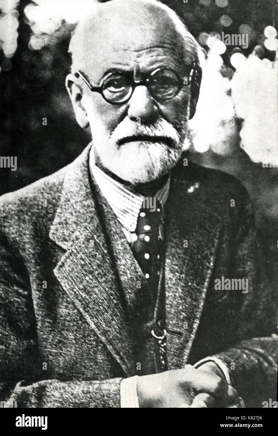 sigmund freud, 1939 - Stock Image