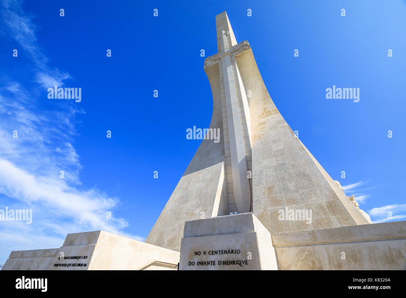 Discoveries Monument Lisbon - Stock Image
