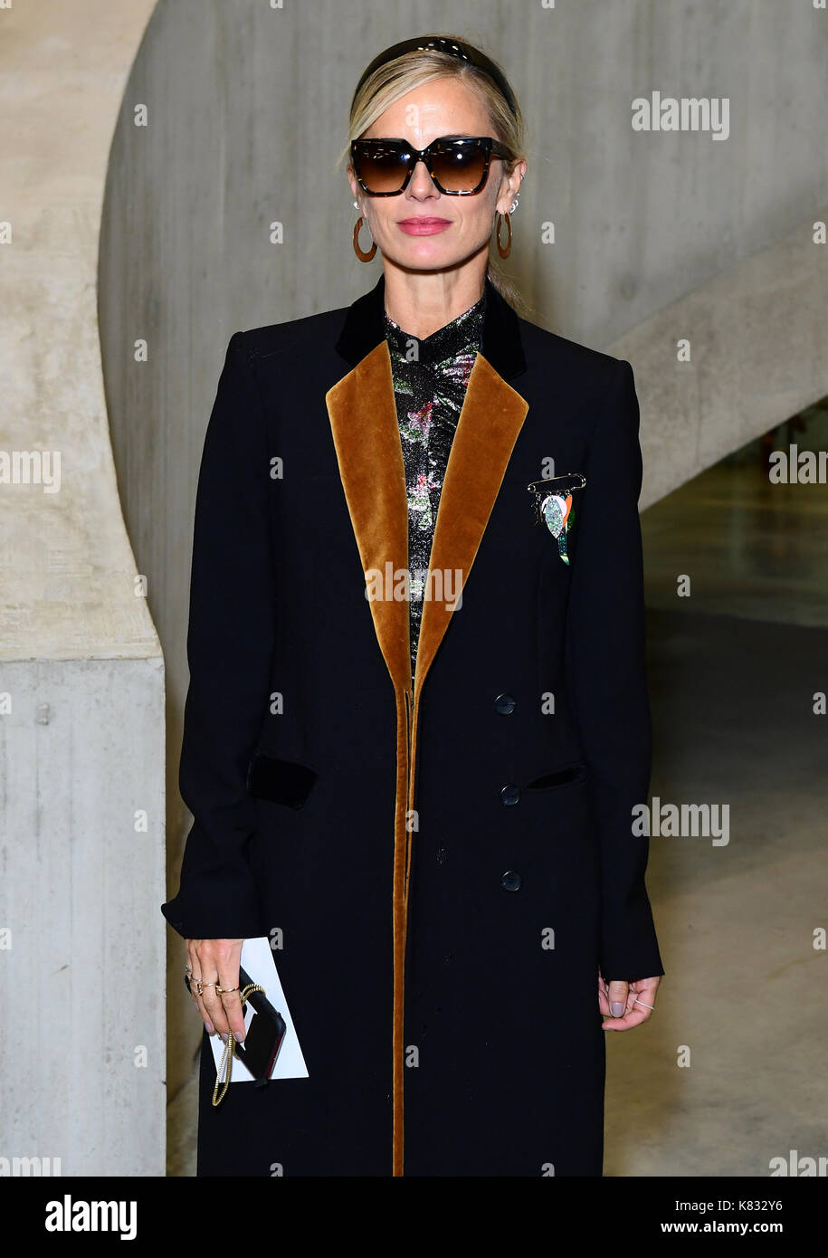 Laura Bailey during the Christopher Kane Show as part of