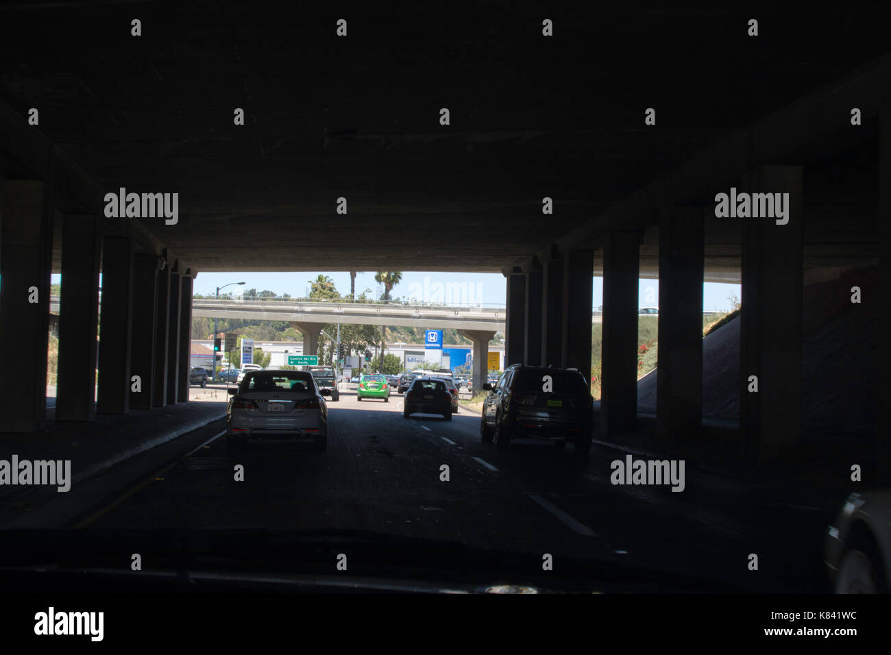 Roads and Highways around San Diego,California - Stock Image