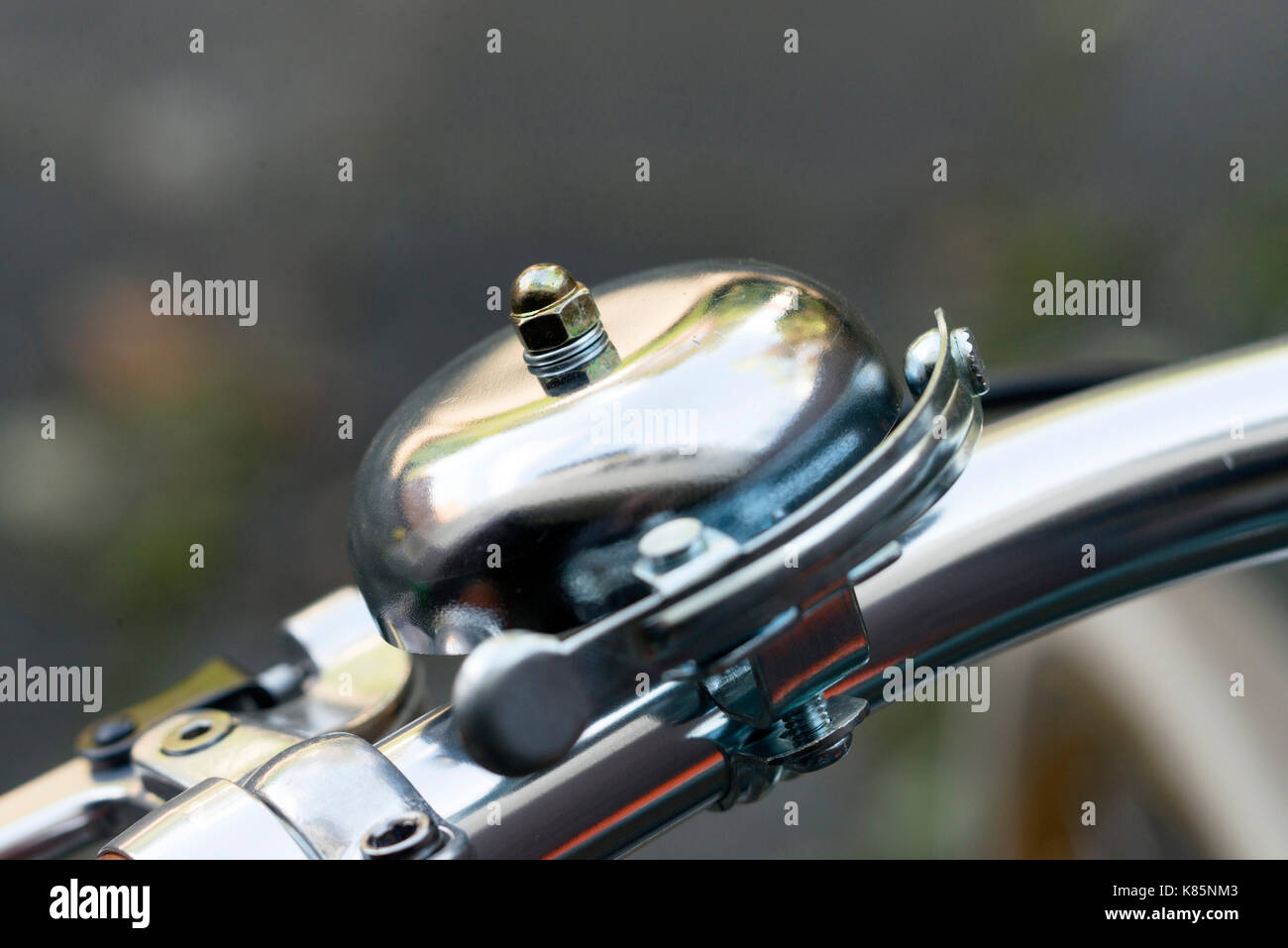 Bicycle bell - Stock Image