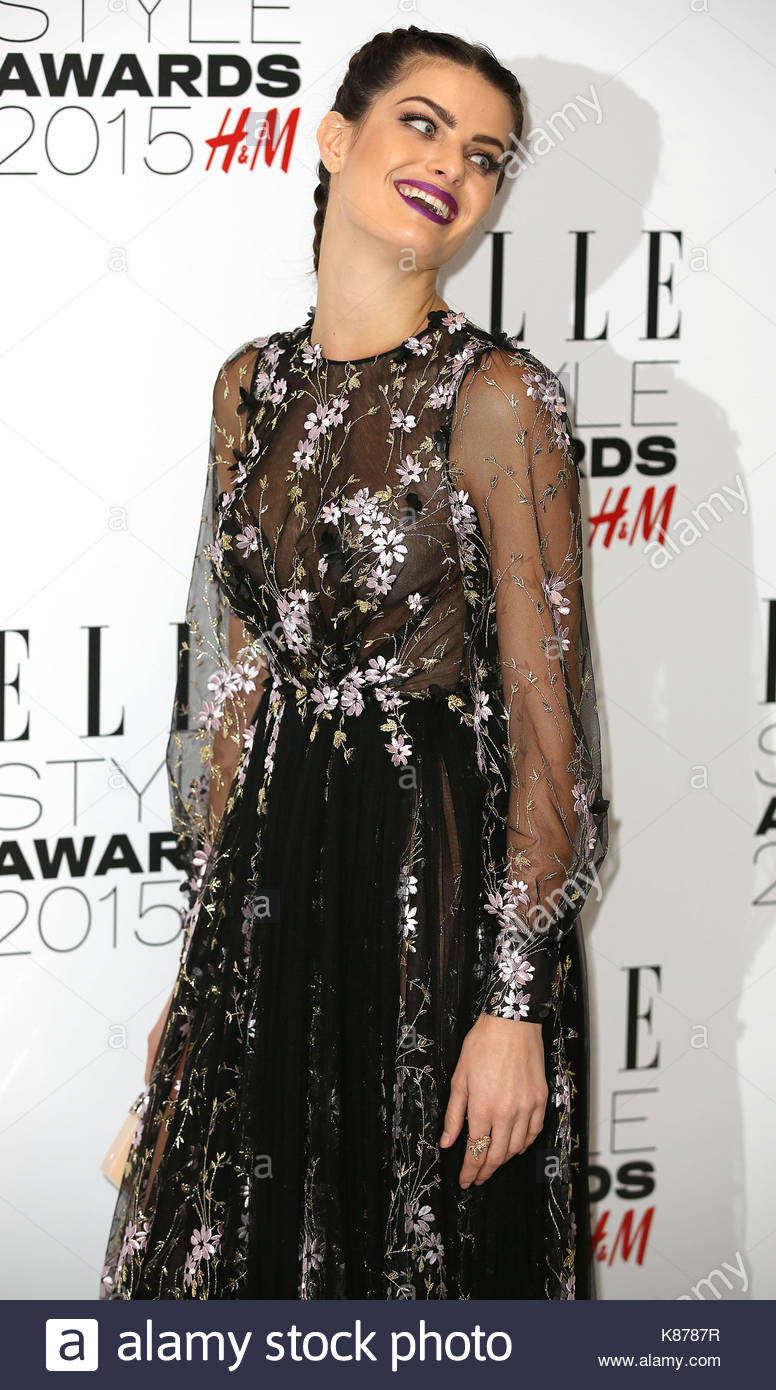 Isabeli Fontana Elle Style Awards Arrivals