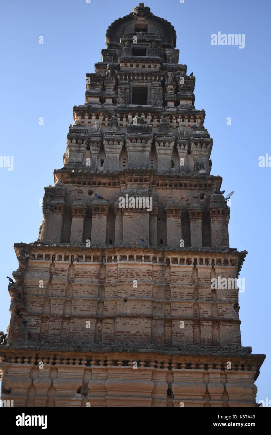 Sri Ram chandra temple , Ammapalli, Hyderabad - Stock Image