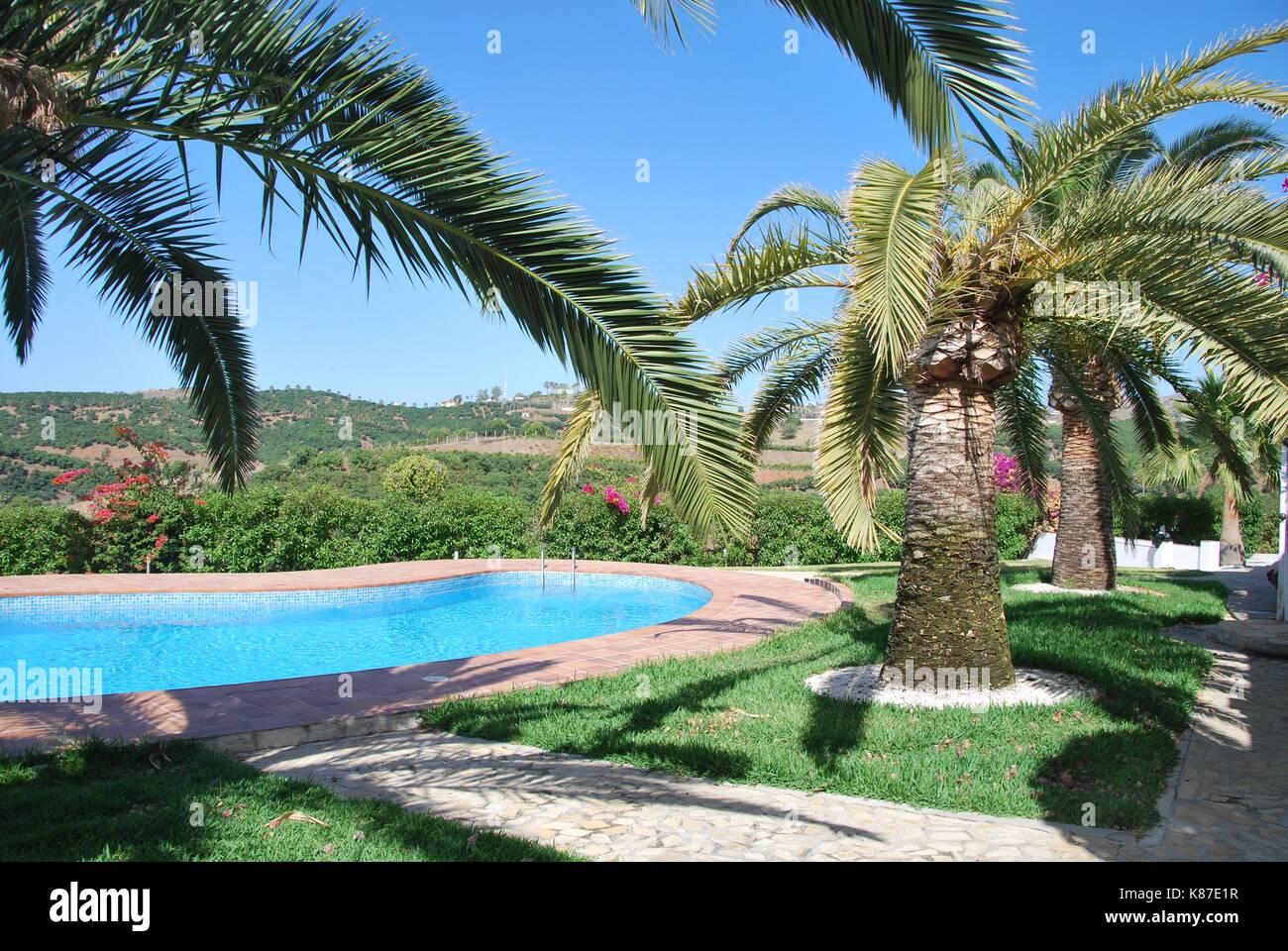 Malaga Spain - Stock Image