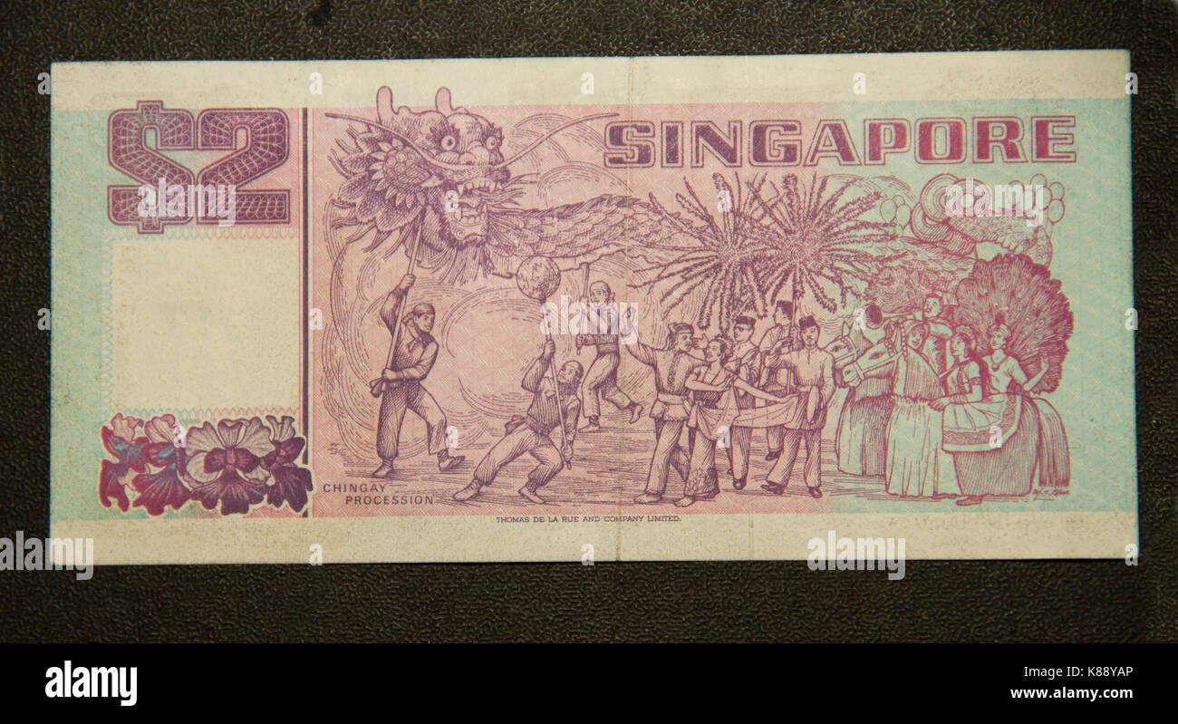 Old Paper Money - Stock Image