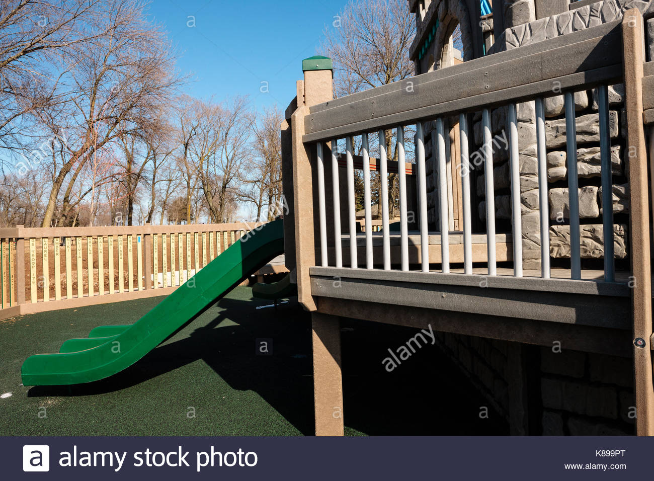 Nautical theme 'Possibility Playground' a universally accessible playground for all children in Port Washington, - Stock Image