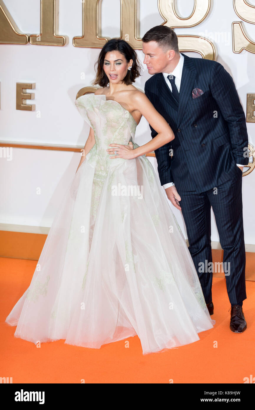 London, UK. 18th Sep, 2017. Jenna Dewan and Channing Tatum attends ...