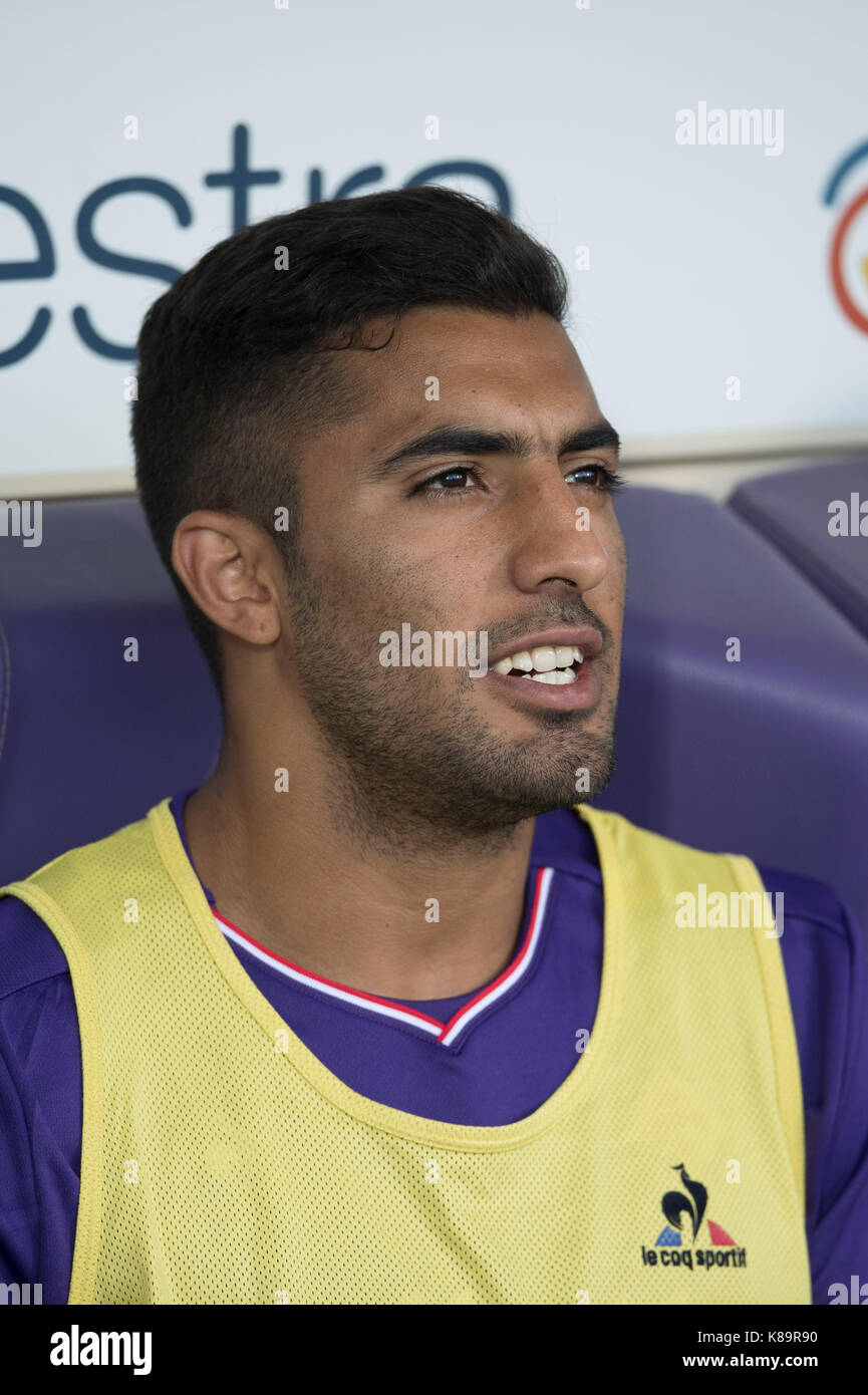 Maximiliano Olivera (Fiorentina), SEPTEMBER 16, 2017 - Football / Soccer : Italian 'Serie A' match between - Stock Image