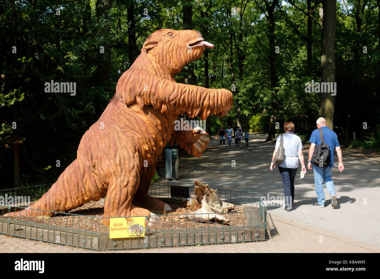 D-Dortmund, Ruhr area, Westphalia, North Rhine-Westphalia, NRW, D-Dortmund-Bruenninghausen, zoological garden Dortmund, - Stock Image