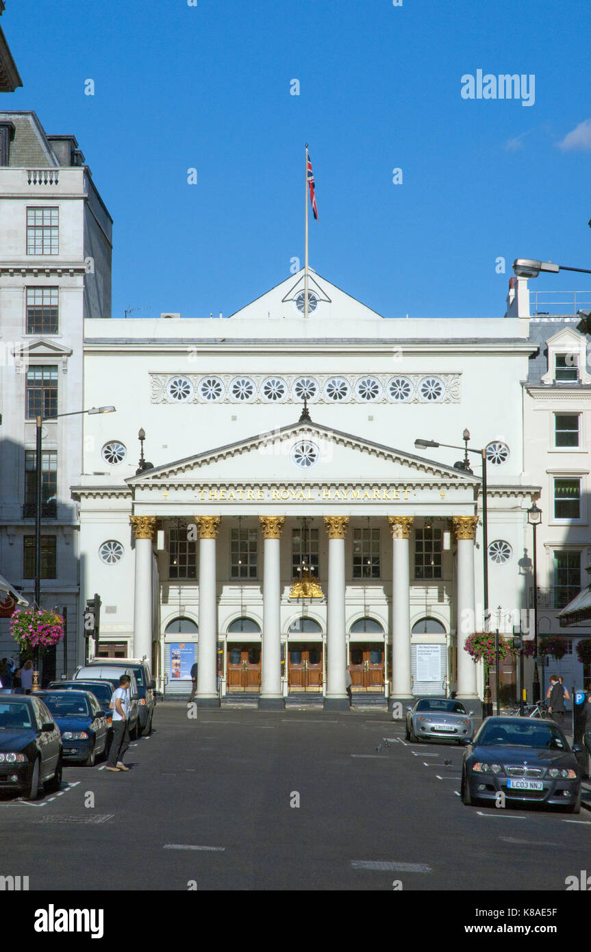 The Theatre Royal Haymarket, London, UK - Stock Image
