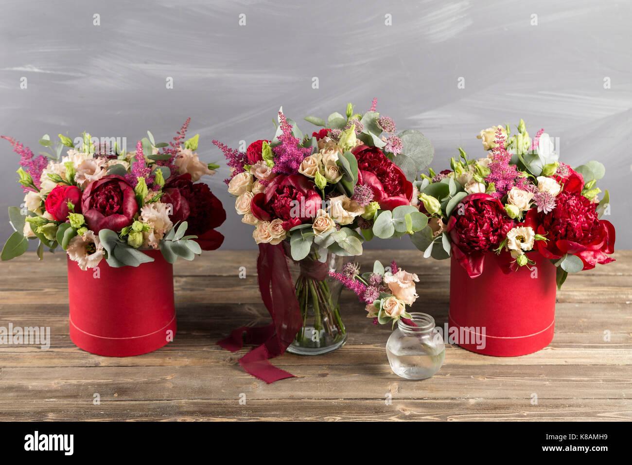Peony Roses Stock Photos & Peony Roses Stock Images - Alamy