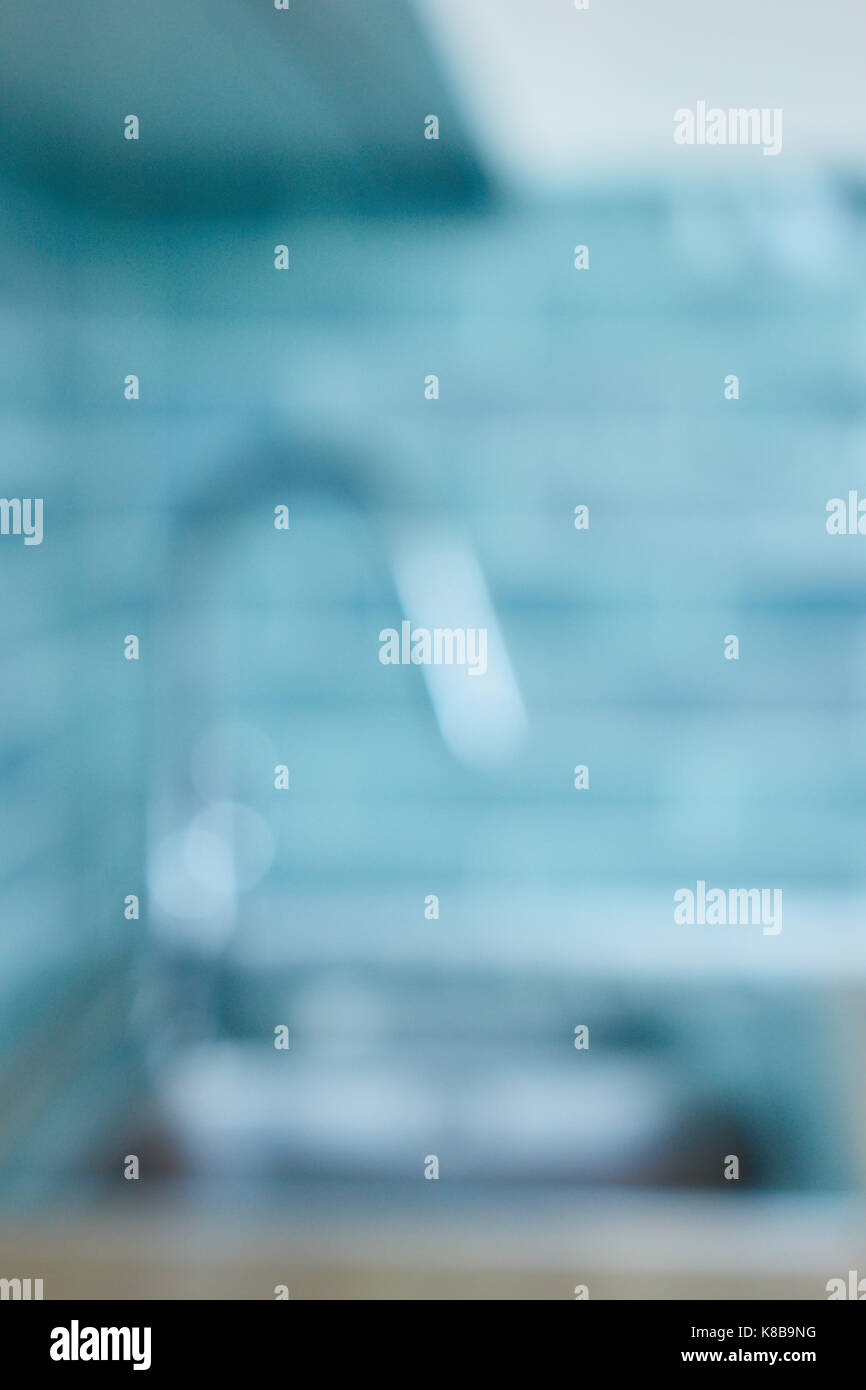 Kitchen sink with mixer tap Stock Photo: 160059692 - Alamy