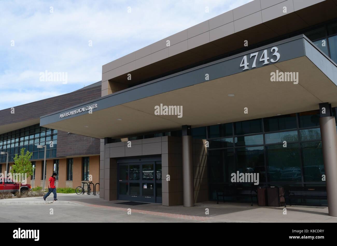 Anderson Medical Center, at Boulder Community Health, Boulder, Cplorado - Stock Image