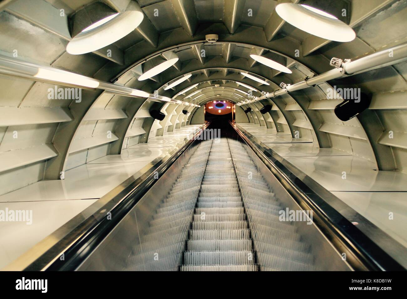Futuristic Stairs Looks Like A Spaceship Stock Photo 160104613 Alamy