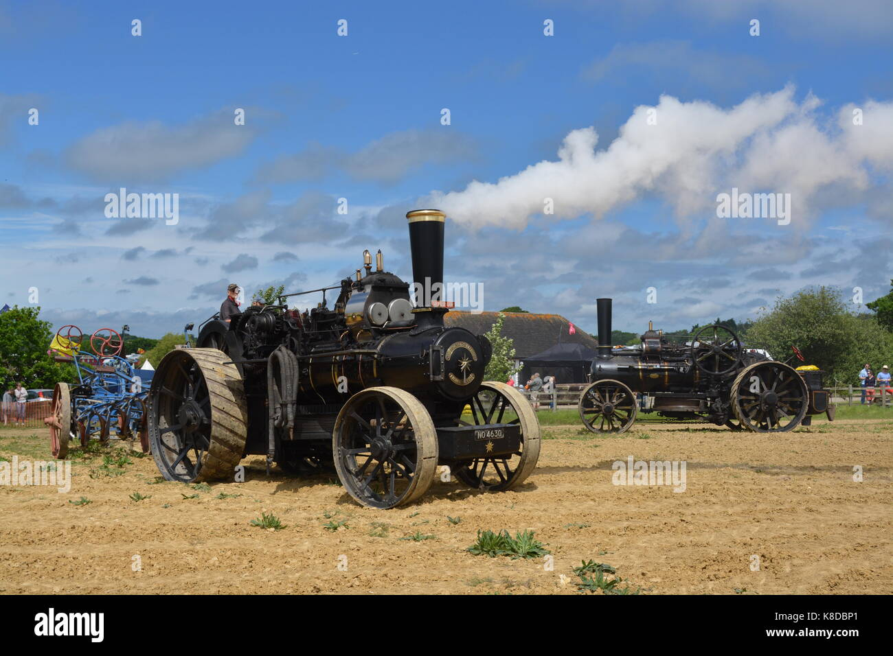 Ploughing Engine Stock Photos & Ploughing Engine Stock