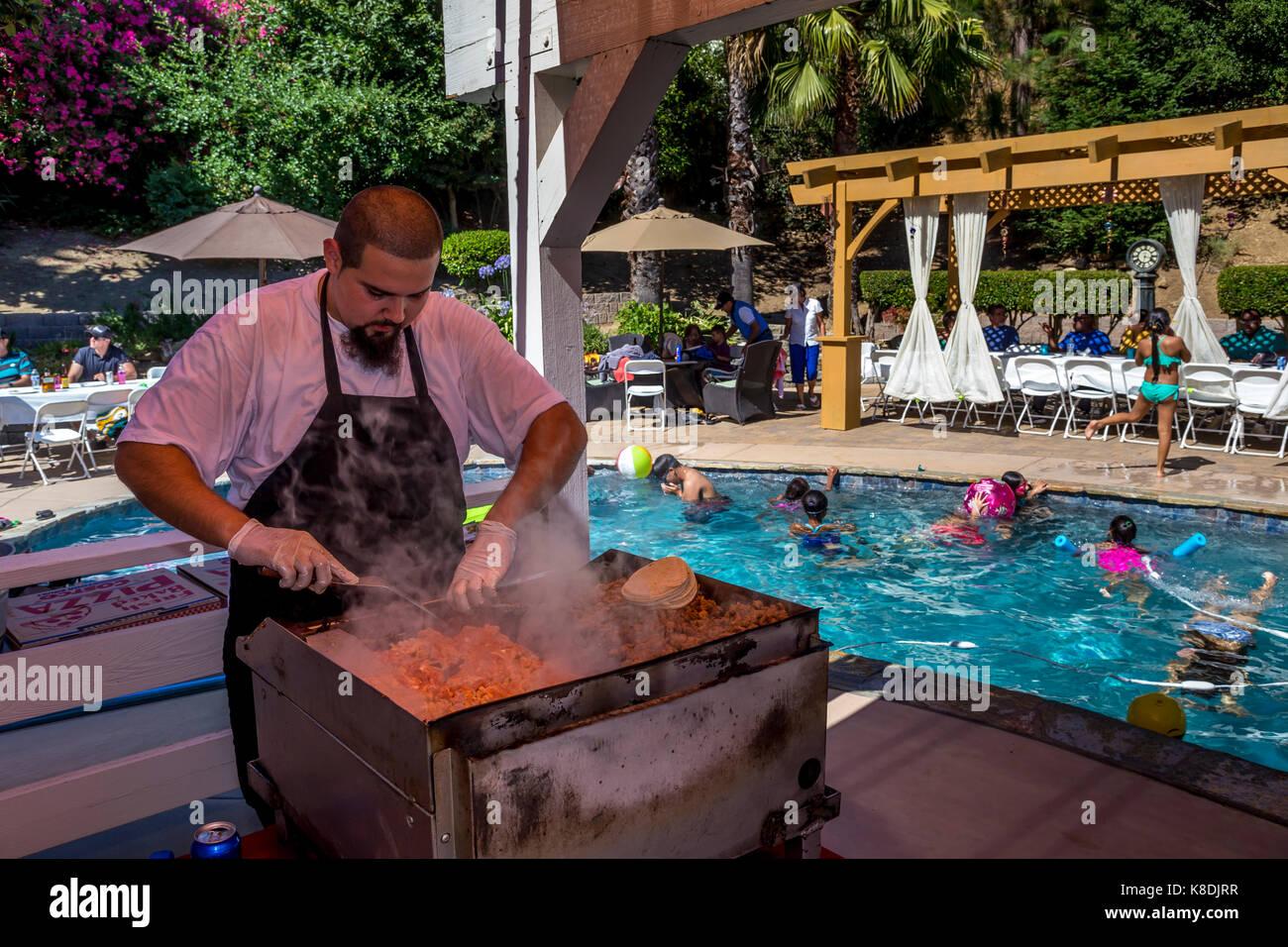 Mexican Cooking Outdoor Stock Photos & Mexican Cooking ...
