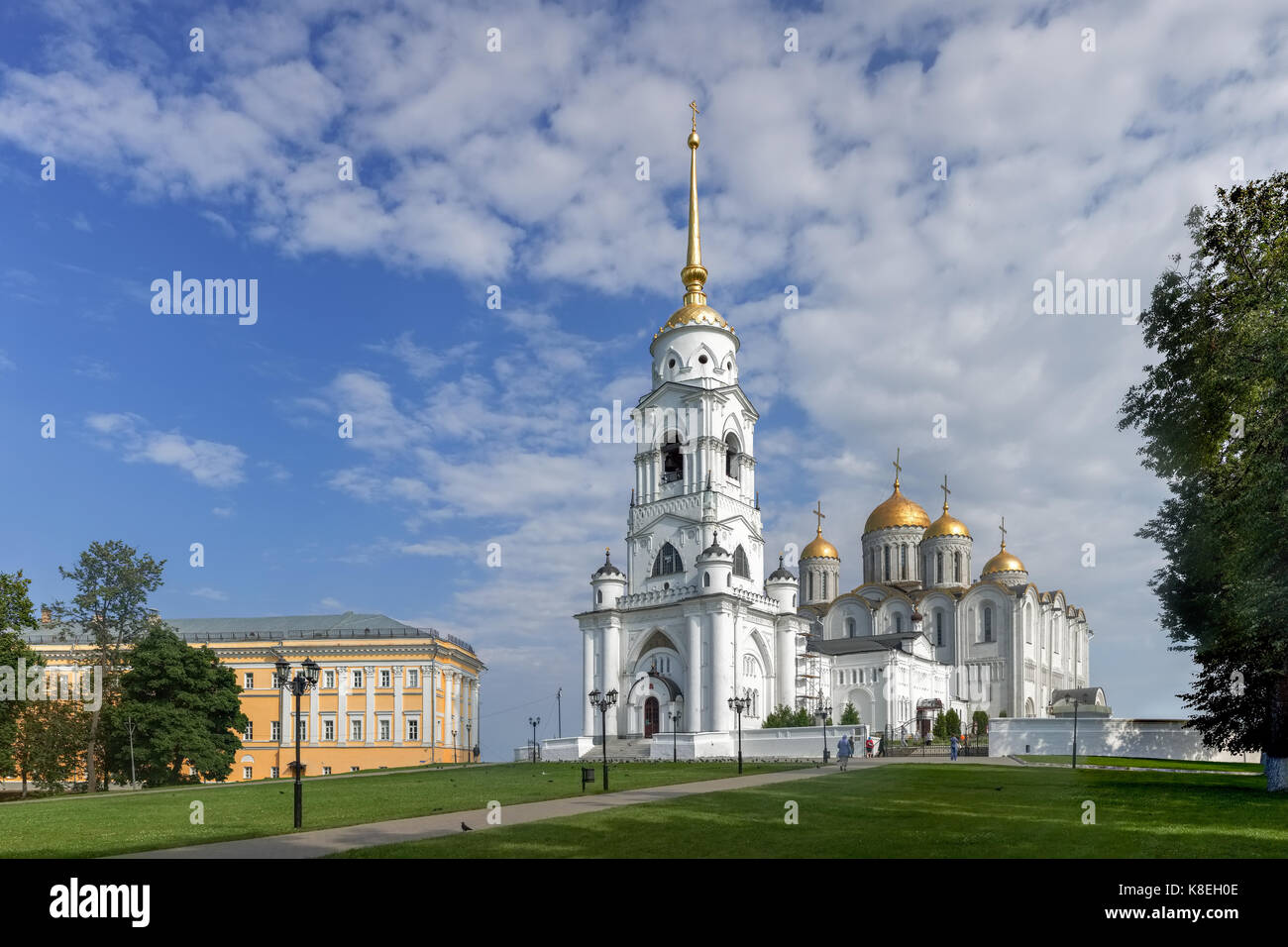 Assumption Cathedral. Vladimir. Russia - Stock Image