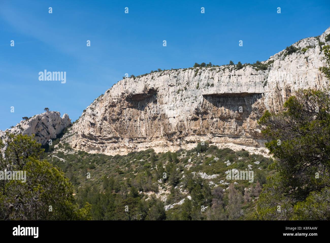 Calanque de Sugiton,Calanques National Park, southern France Stock Photo