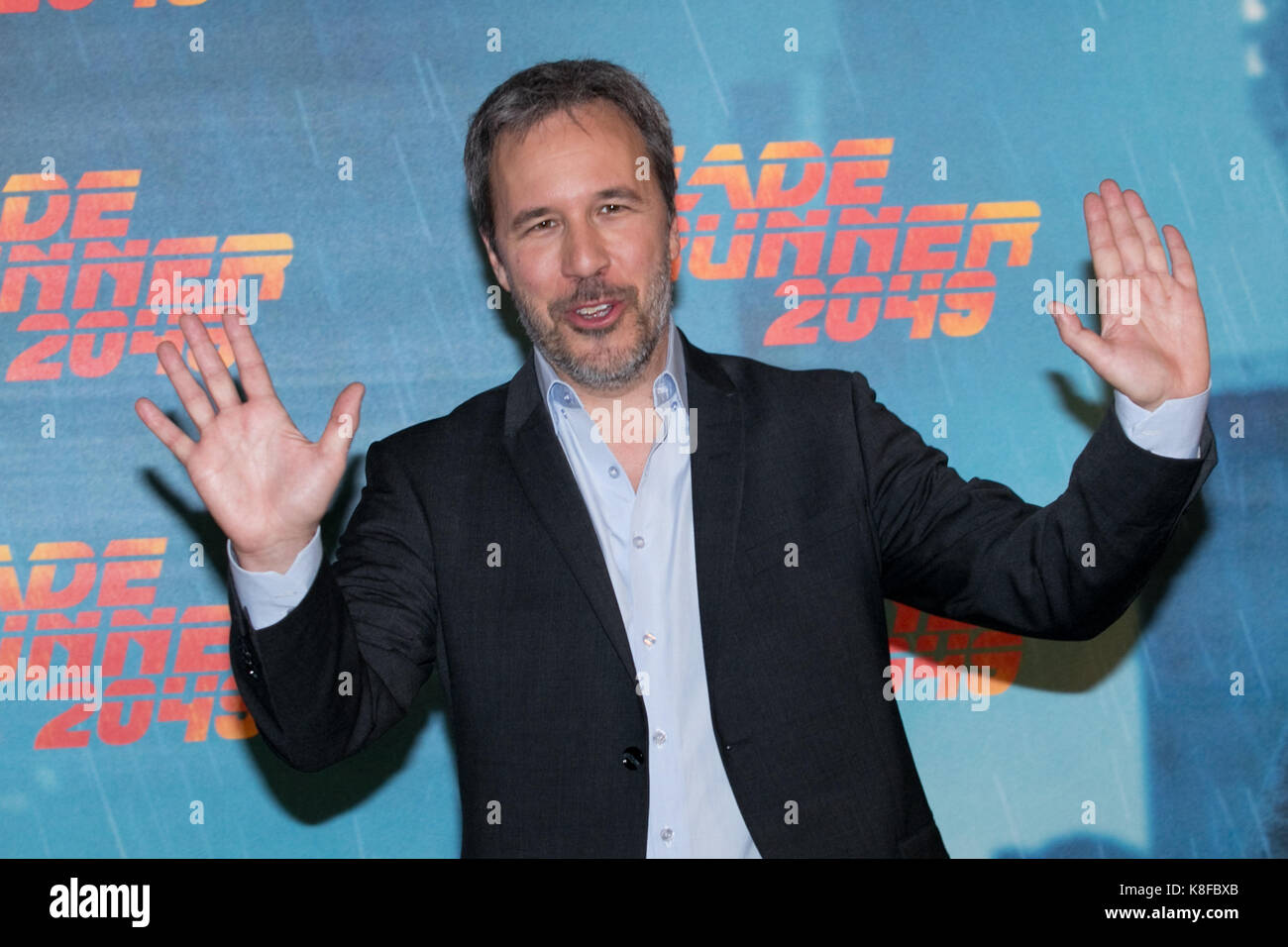 Rome, Italy. 19th Sep, 2017. Rome, photocall film 'Blade Runner 2049'. In the photo: Denis Villeneuve Credit: - Stock Image