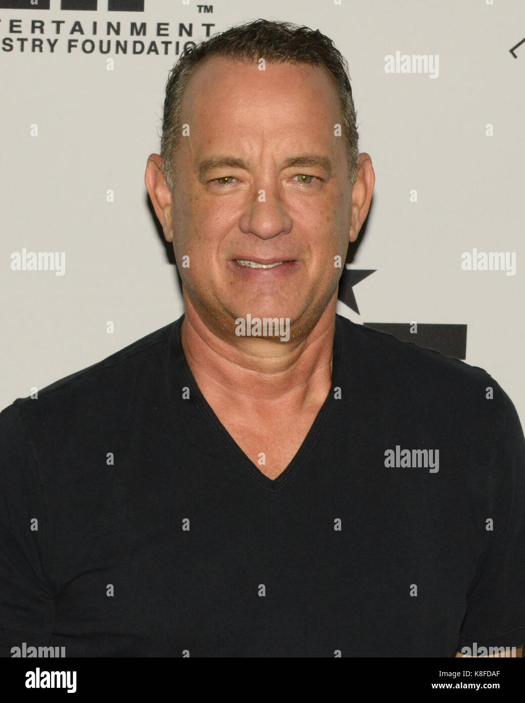 Westwood,USA. 18th Sep,2017. Tom Hanks attends 27th Annual Simply Shakespeare benefit Freud Playhouse,UCLA Westwood,California - Stock Image