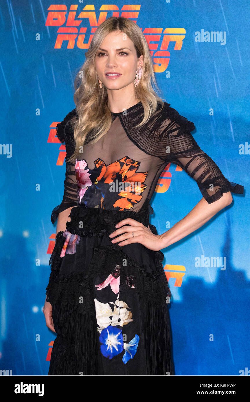 Sylvia Hoeks attends the 'Blade Runner 2049' photocall at The Space Moderno on September 19, 2017 in Rome, - Stock Image