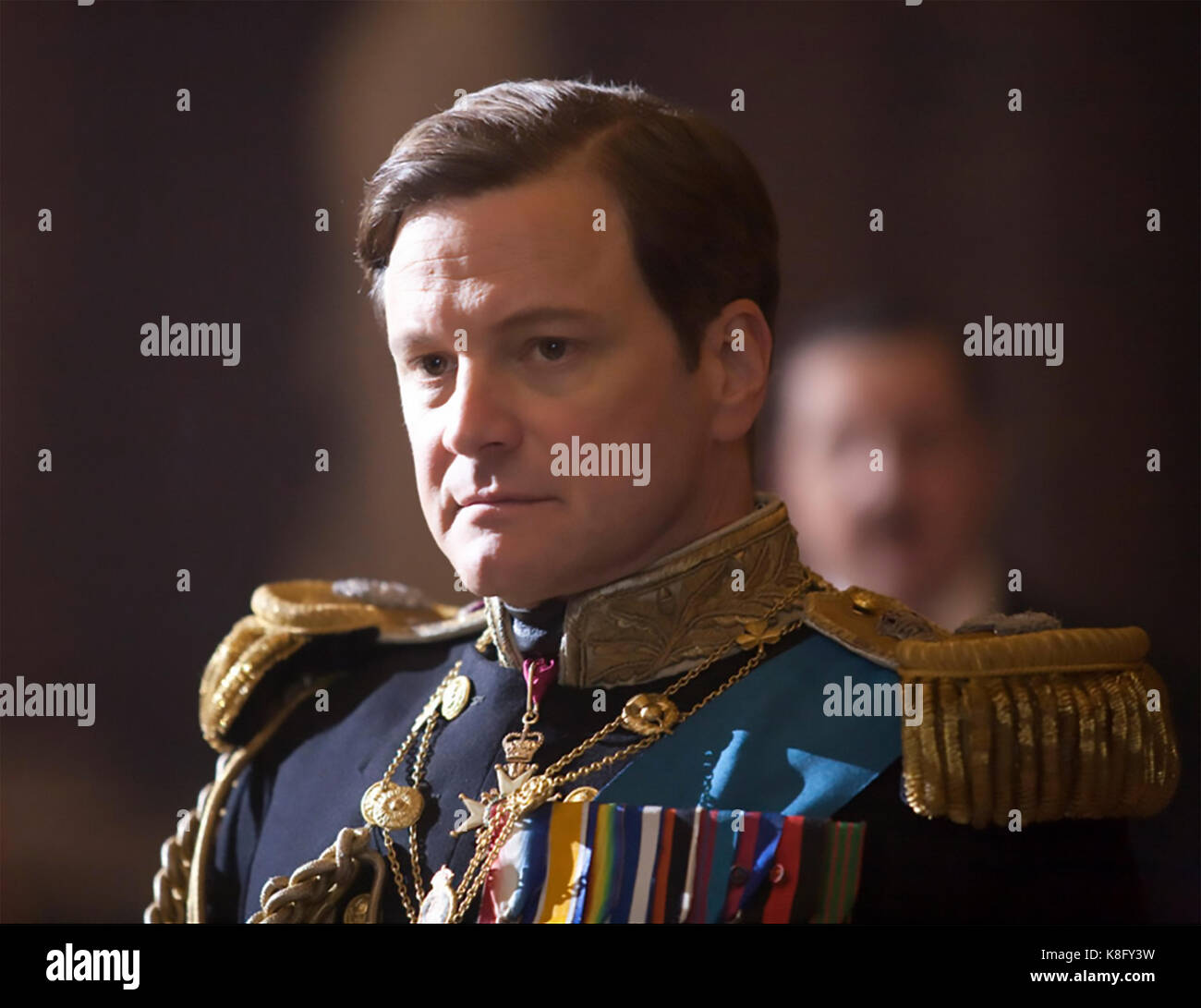 THE KING'S SPEECH 2010 See-Saw Films production with Colin Firth as King George VI - Stock Image