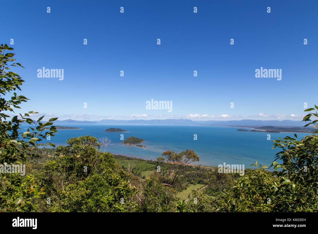 Dunk Island in Queensland, Australia - Stock Image