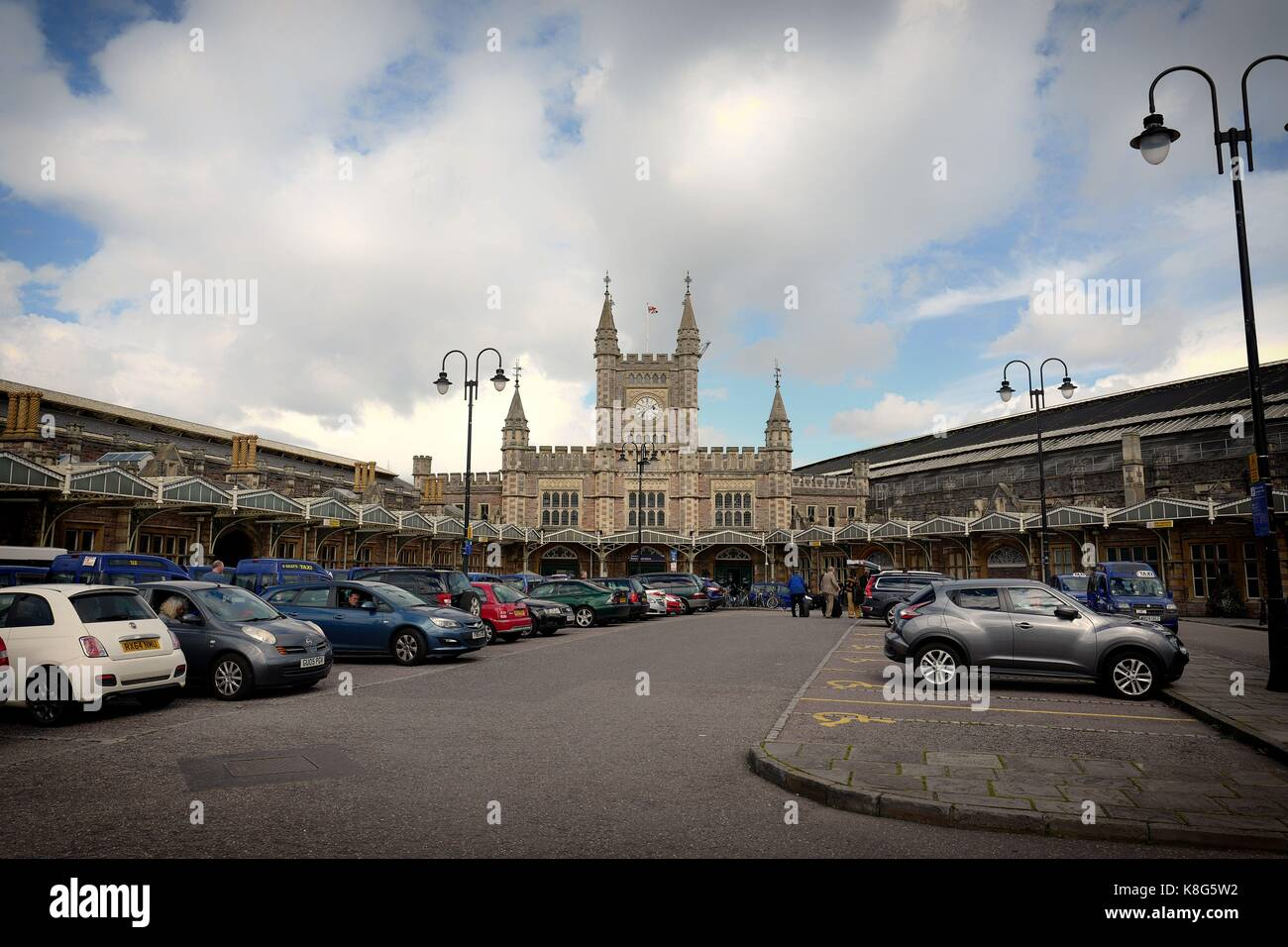 Bristol Temple Meads Rail Station Stock Photo