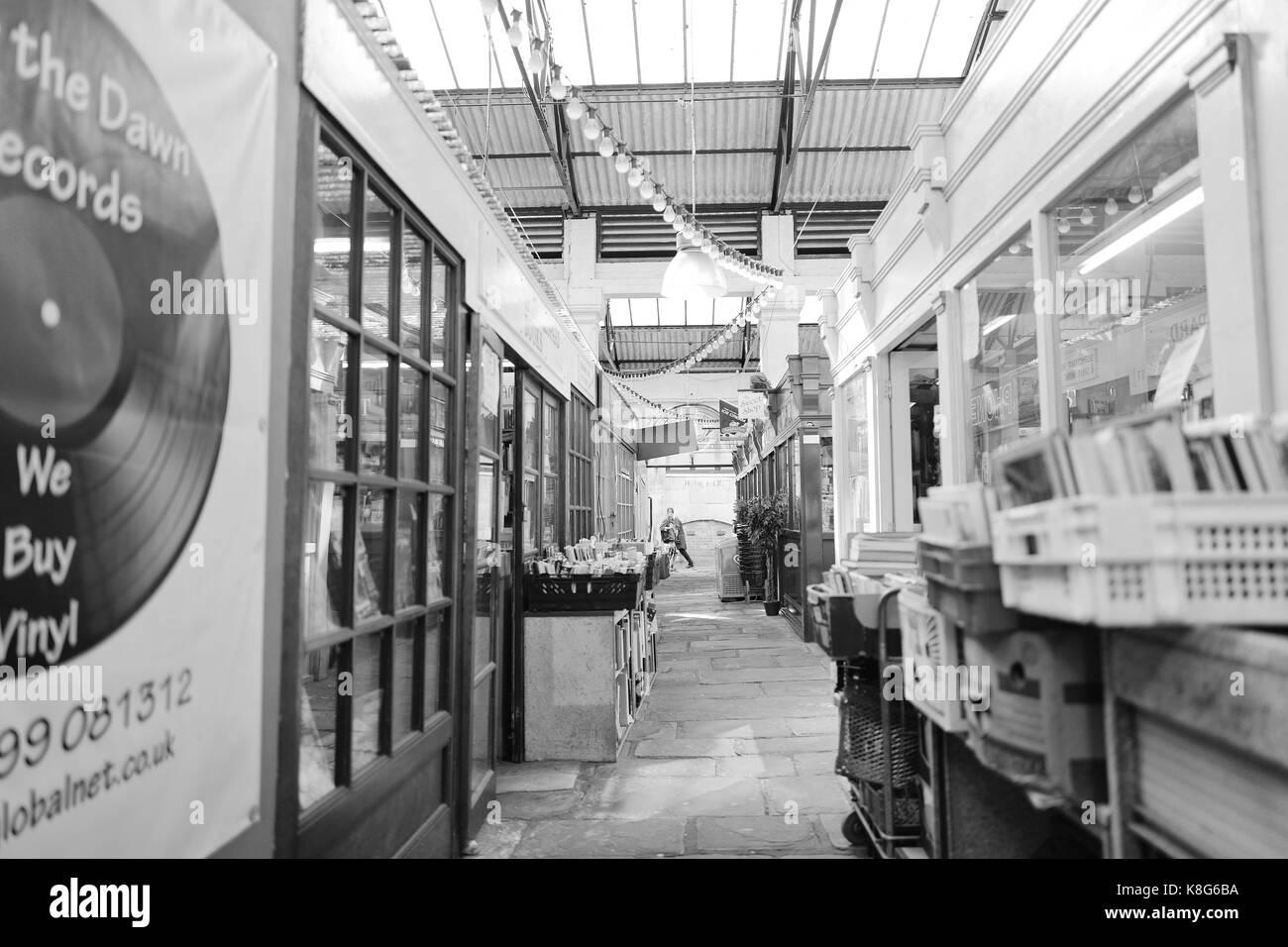 St Nicholas Market Bristol - Stock Image