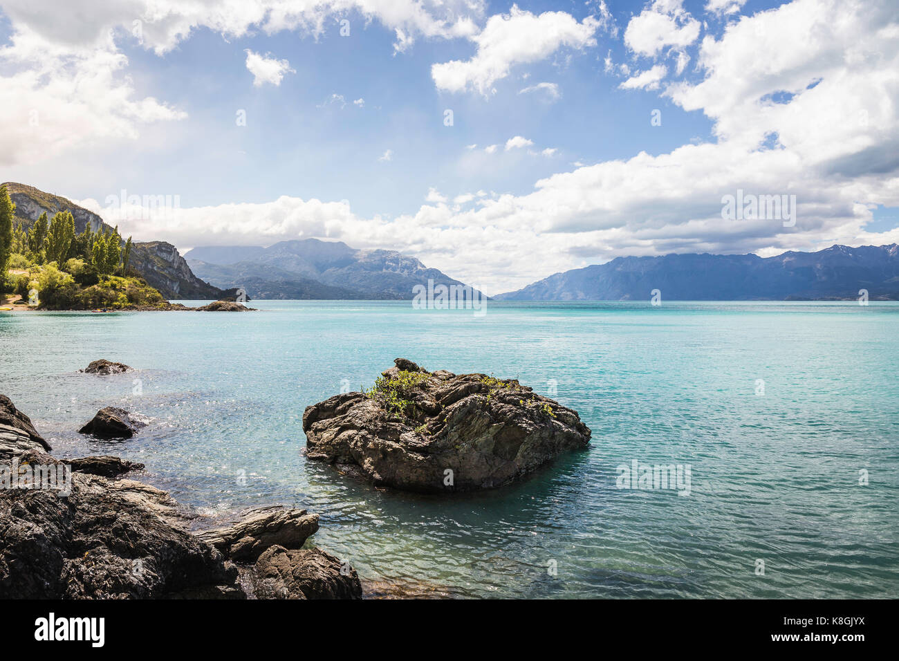 General Carrera Lake, Aysen Region, Chile, South America - Stock Image