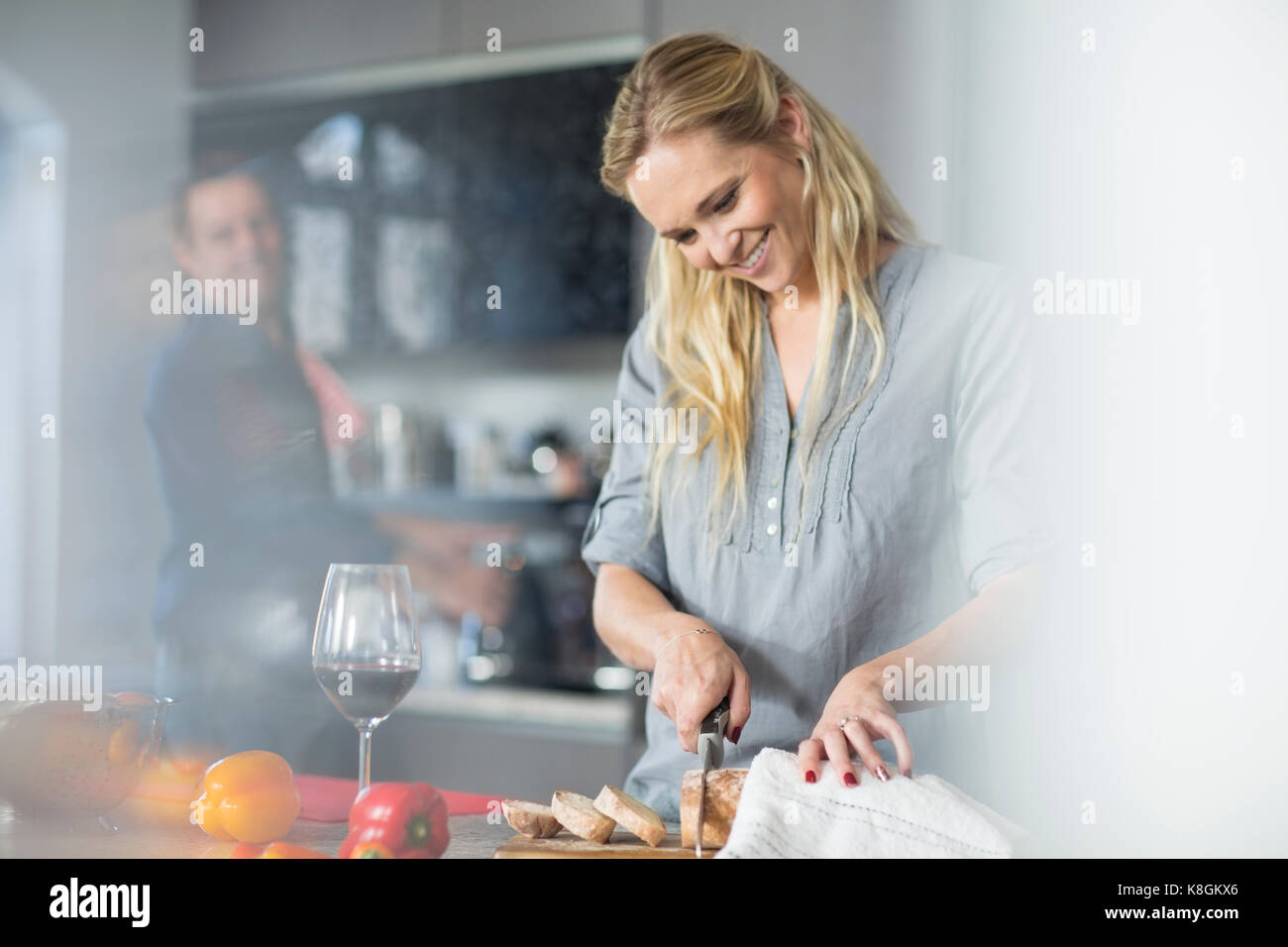 Woman With Glass Bell Stock Photos & Woman With Glass Bell Stock ...