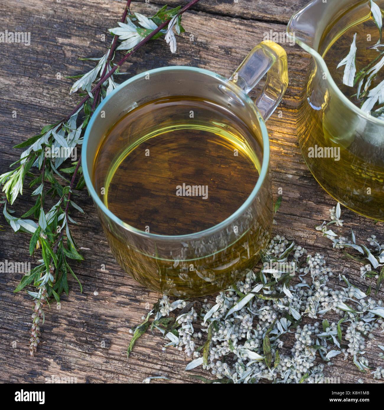 Mugwort Tea Stock Photos & Mugwort Tea Stock Images - Alamy