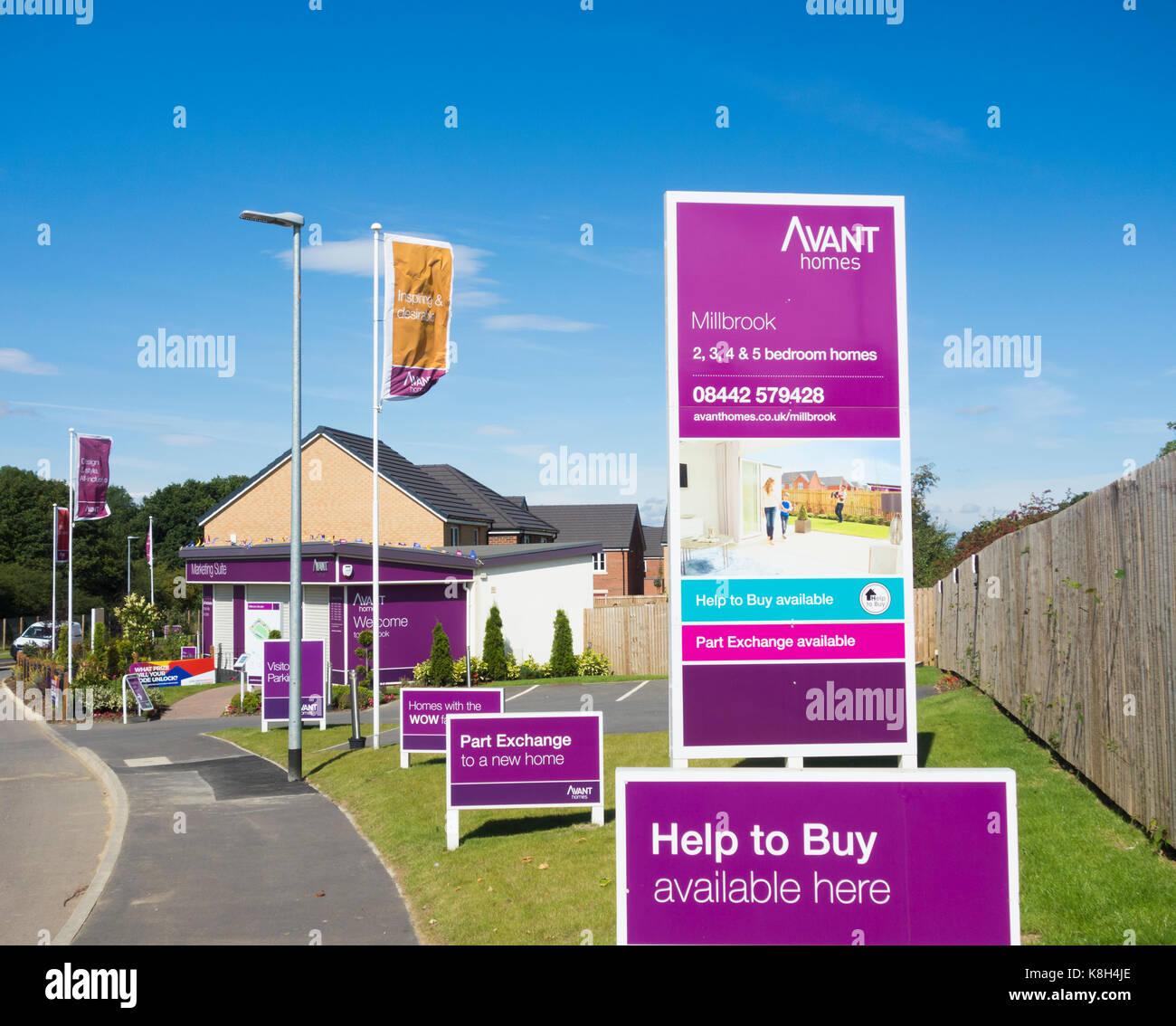 Avant Homes - Stock Image