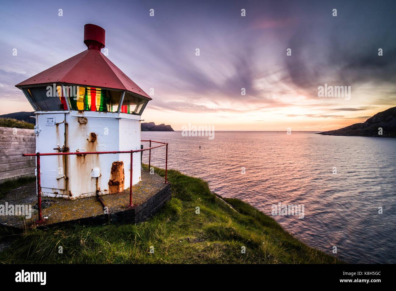 bird island Runde in Norway, More og Romsdal, Norway, Europe. - Stock Image