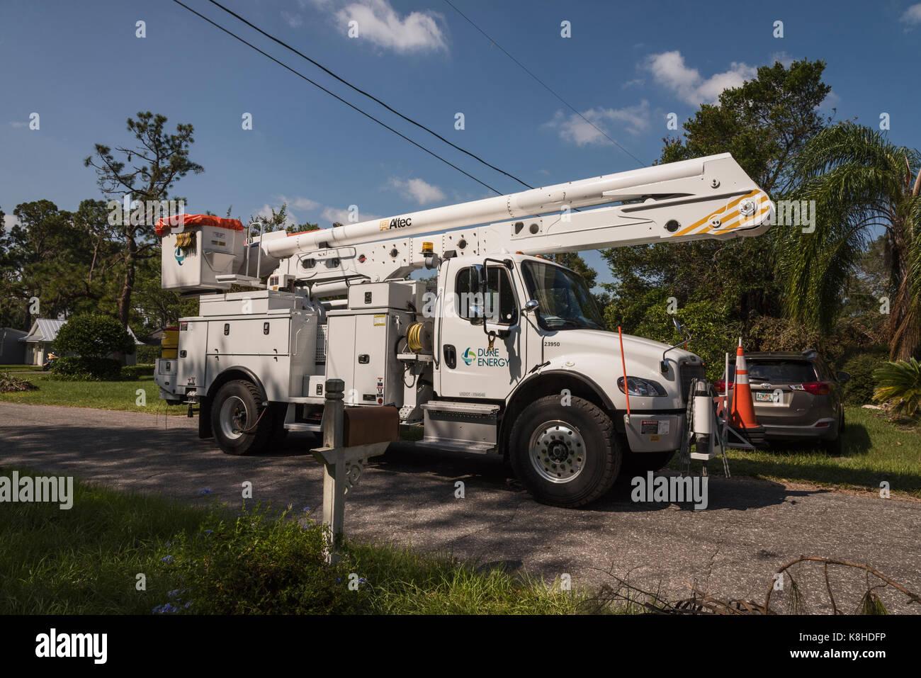 Duke Energy working on restoring electric after Hurrivcane