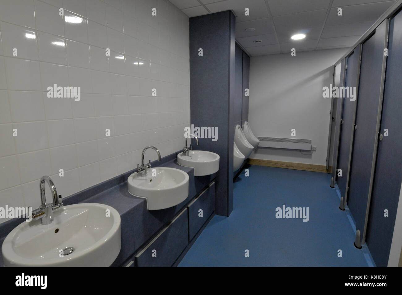 Disabled Toilets And Washing Bathrooms In A Modern Office Building Offices Facilities Workplace