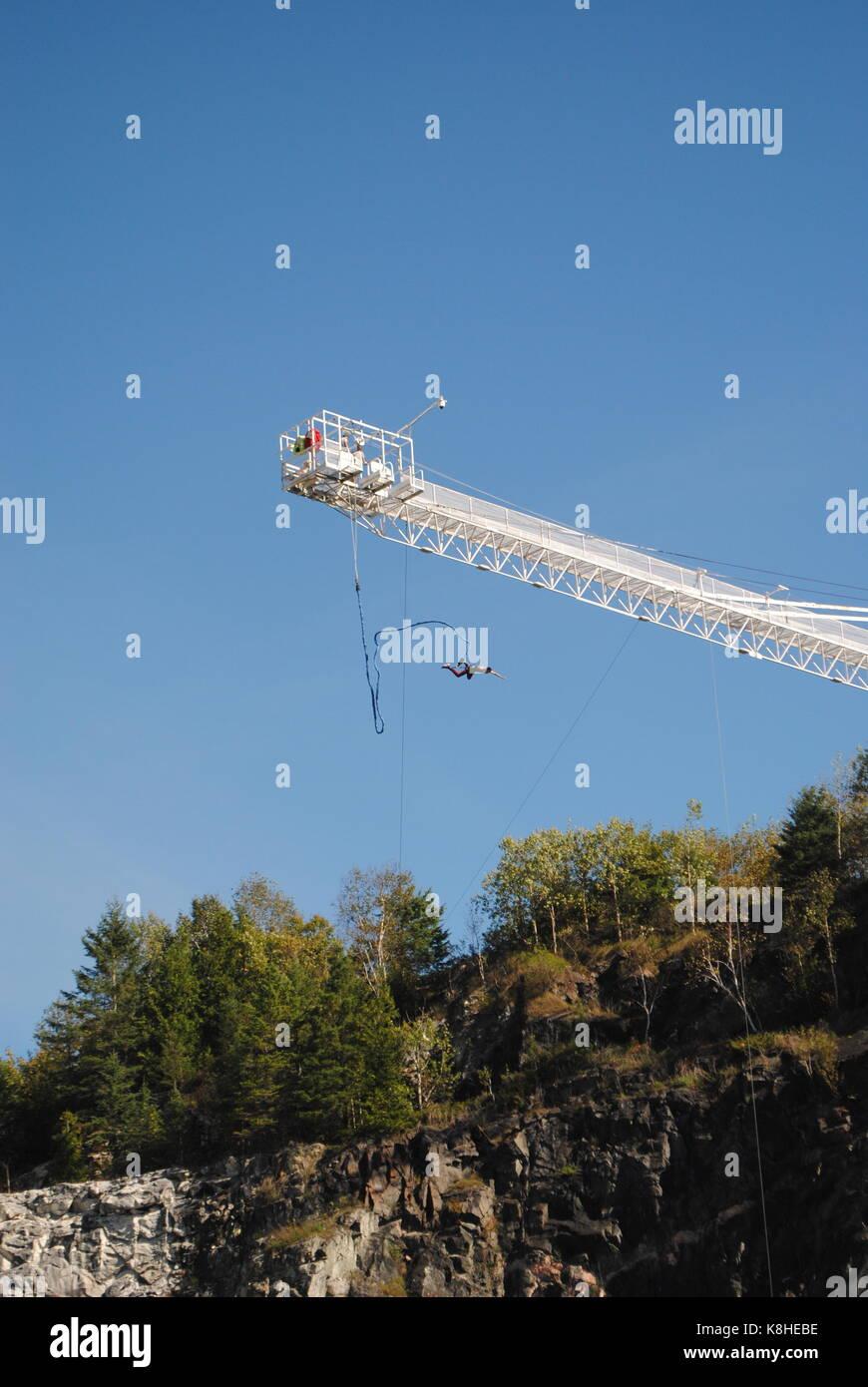 Bungee Jump - Stock Image
