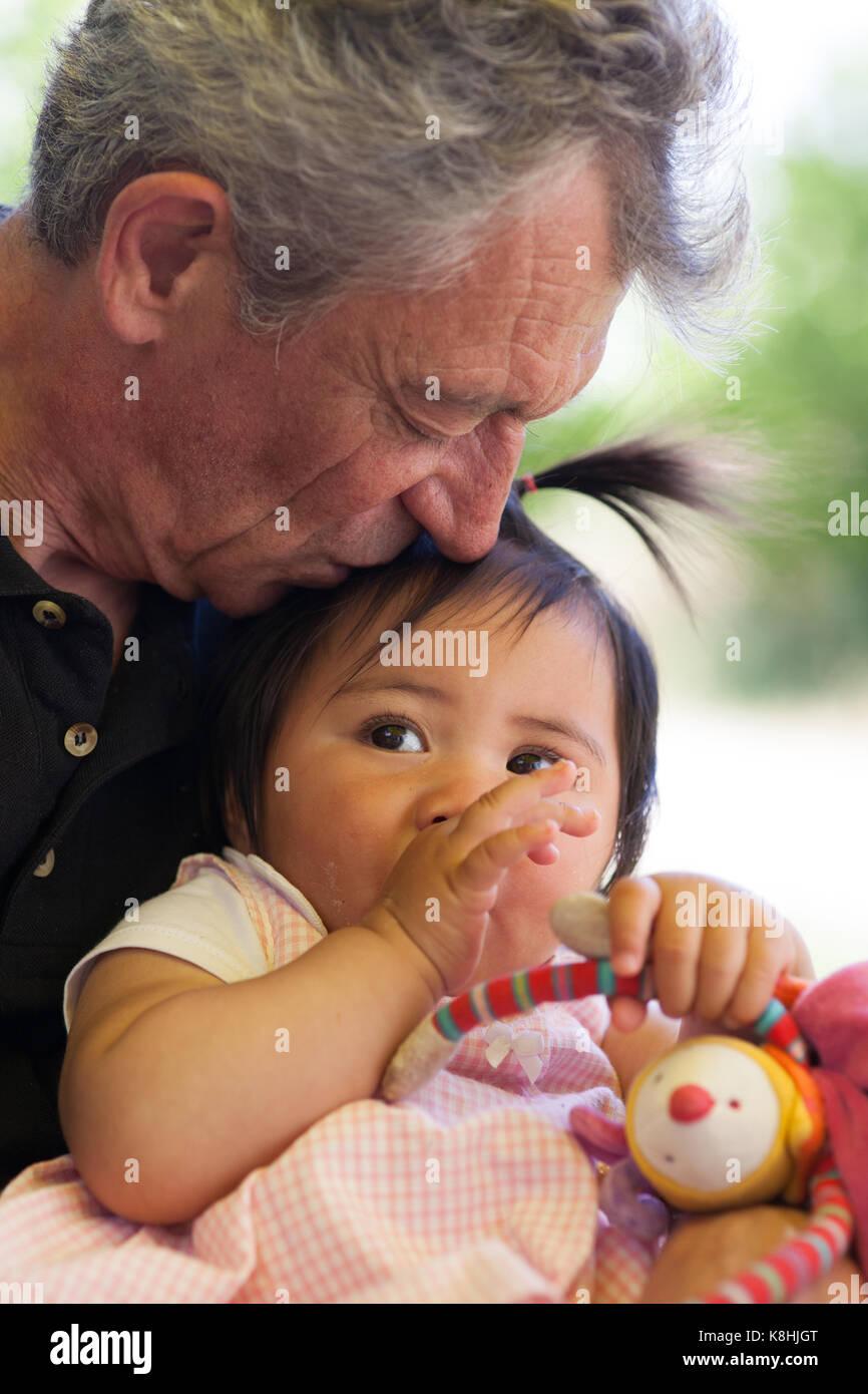 BABY GIRL - Stock Image