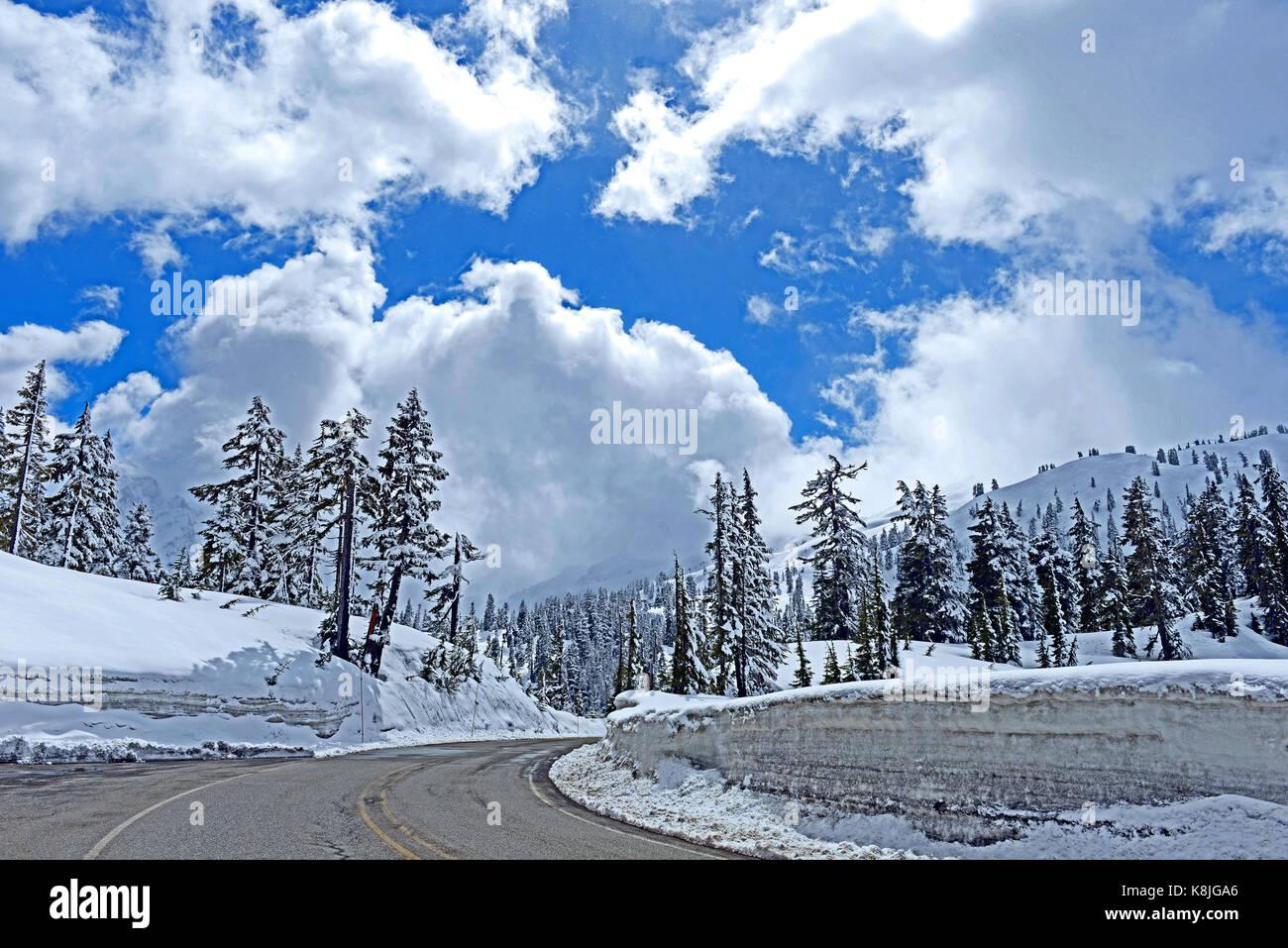 Wild and Scenic Washington State, USA - Stock Image