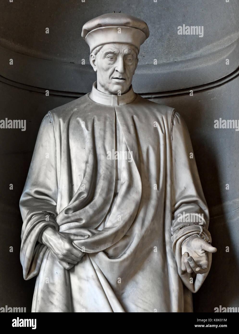 COSIMO THE ELDER  - PATER PATRIAE - Cosimo di Giovanni de' Medici (called 'the Elder ) Father of the Nation - Stock Image