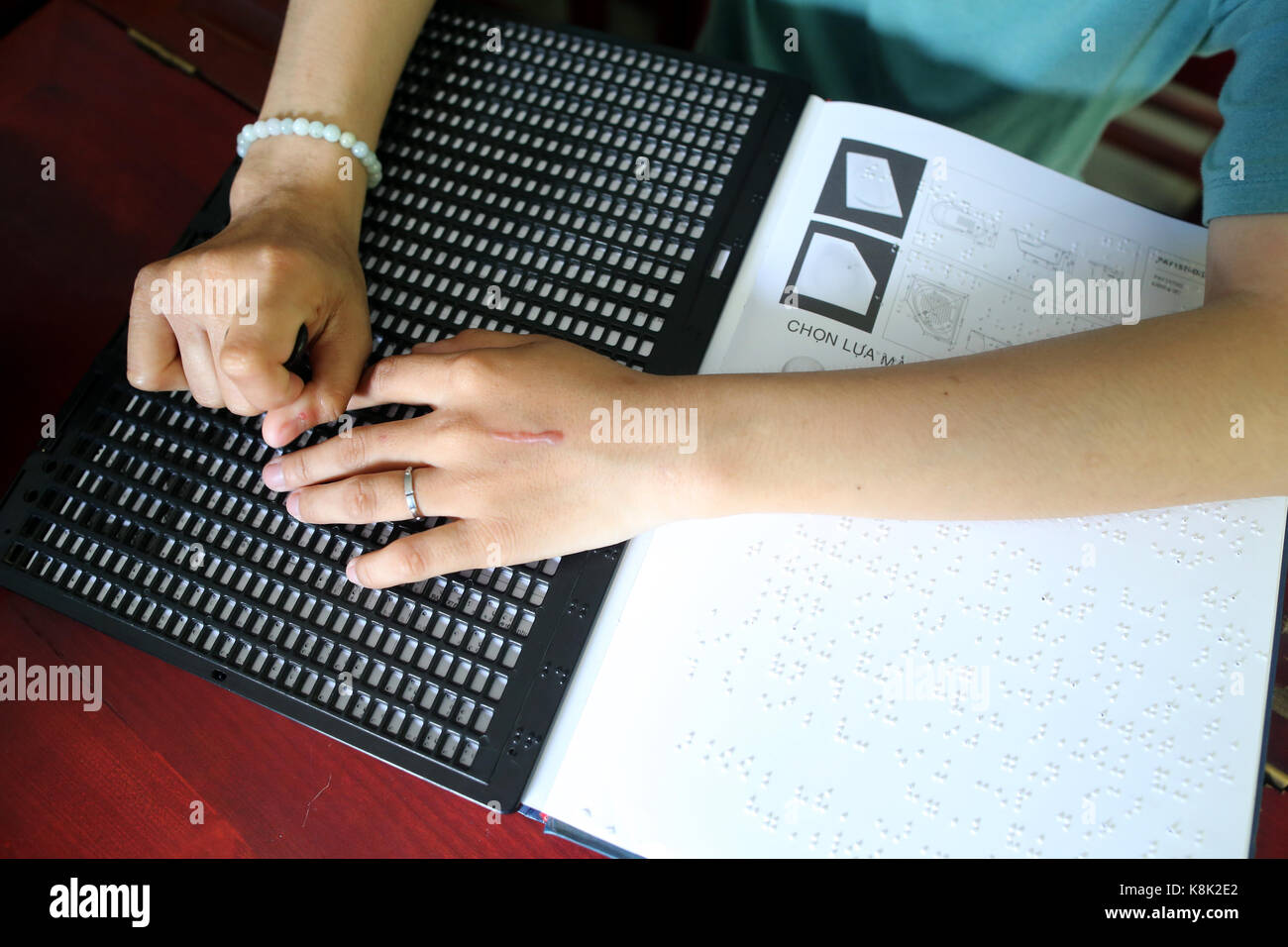 Hands And Braille Writing Stock Photos & Hands And Braille Writing ...